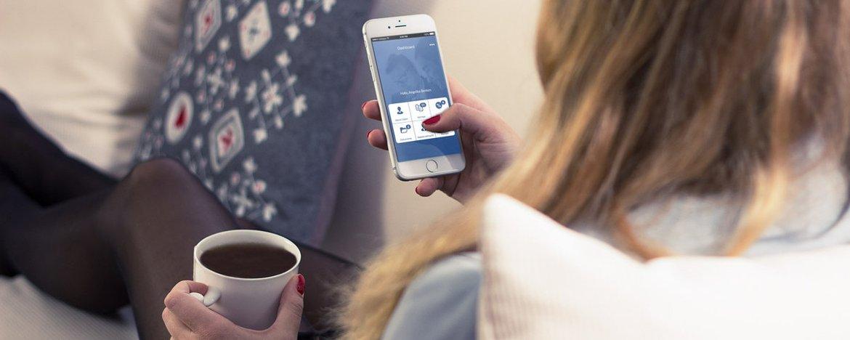 digitale App simplr für Versicherungen
