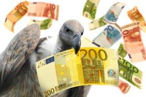 Pleitegeier Bankenpleite Geld