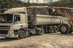 Detailansicht eines LKWs