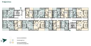 Grundrisse - Erdgeschoss - Gevelsberg - SaFiVe - Seniorengerechte Eigentumswohnungen