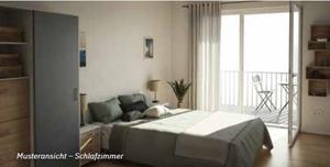 Gevelsberg Musteransicht Schlafzimmer - SaFiVe - seniorengerechte Eigentumswohnung